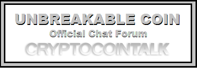 OFFICIAL UNBREAKABLE COIN FORUM