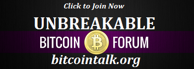 UnbreakableCoin Chat Forum!